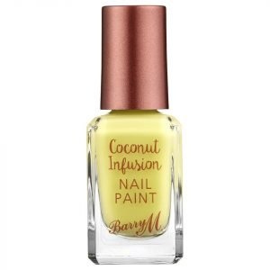 Barry M Cosmetics Coconut Infusion Nail Paint Various Shades Lemonade