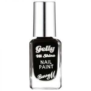Barry M Cosmetics Gelly Hi Shine Nail Paint Various Shades Black Forest