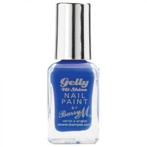 Barry M Cosmetics Gelly Hi Shine Nail Paint Various Shades Damson