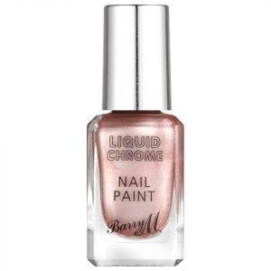 Barry M Cosmetics Liquid Chrome Nail Paint Razzle Dazzle