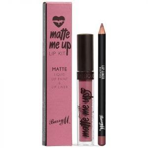 Barry M Cosmetics Matte Me Up Lip Kit Various Shades Bespoke
