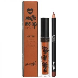 Barry M Cosmetics Matte Me Up Lip Kit Various Shades So Chic