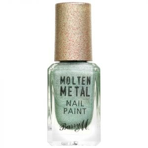 Barry M Cosmetics Molten Metal Nail Paint Holographic Flare