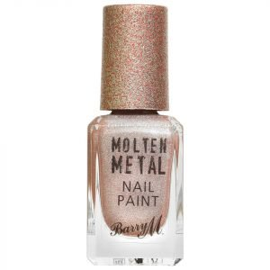 Barry M Cosmetics Molten Metal Nail Paint Holographic Moon