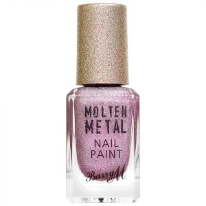 Barry M Cosmetics Molten Metal Nail Paint Holographic Rocket