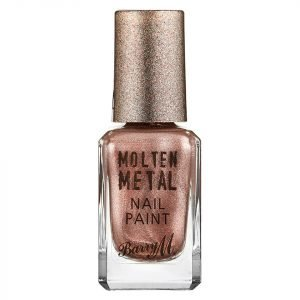 Barry M Cosmetics Molten Metal Nail Paint Pink Ice