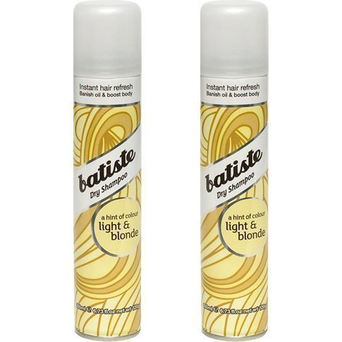 Batiste Dry Shampoo Light & Blonde Duo 2 x Dry Shampoo 200ml