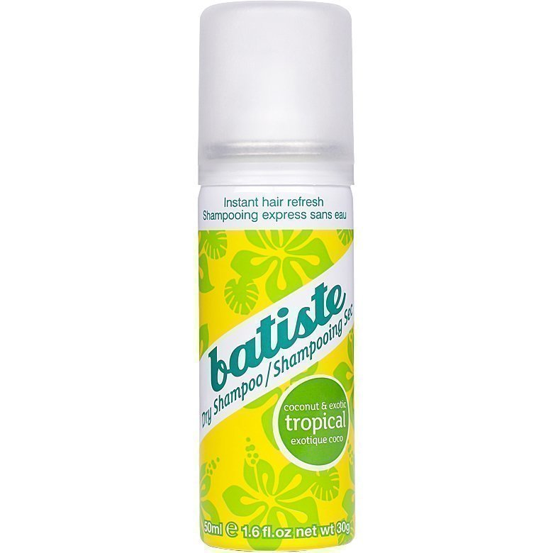 Batiste Dry Shampoo On The Go Tropical 50ml