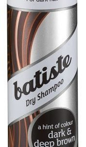 Batiste Kuivashampoo Deep & Dark Brown 200 ml + 50 ml XXL matkakoko