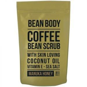 Bean Body Coffee Bean Scrub 220g Manuka Honey