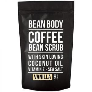 Bean Body Coffee Bean Scrub 220g Vanilla