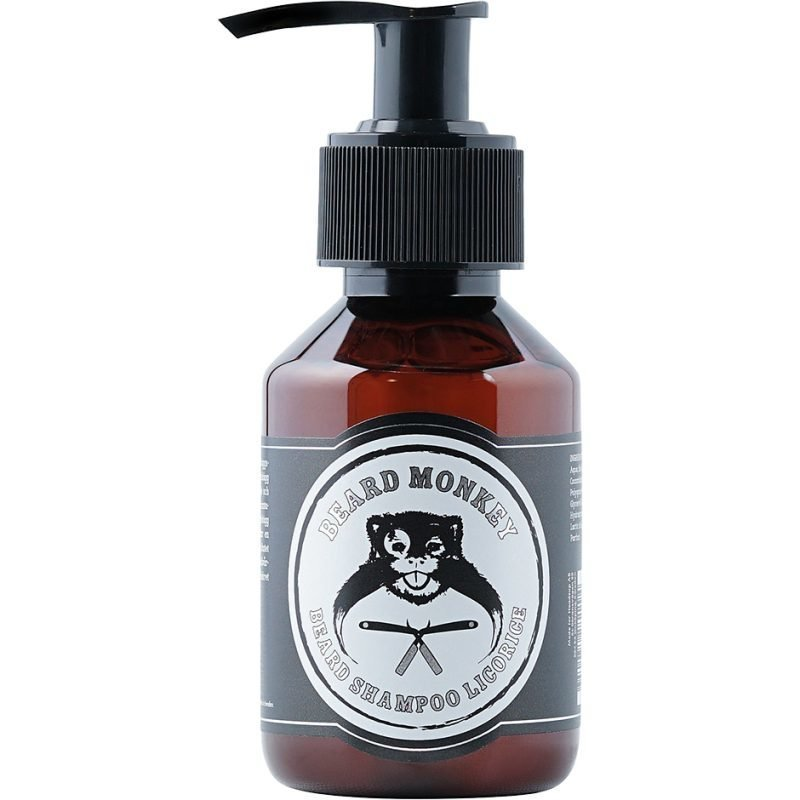 Beard Monkey Beard Shampoo Licorice 100ml