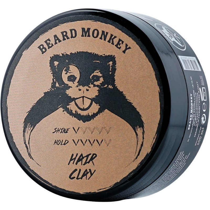 Beard Monkey Hair Wax Clay Pomade 100ml
