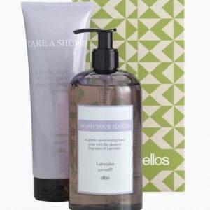 Beauty By Ellos Lavender Lahjapakkaus Hand Soap 500 Ml & Shower Gel 250 Ml