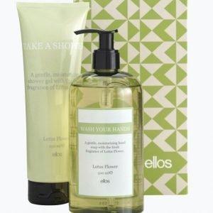 Beauty By Ellos Lootus Flower Lahjapakkaus Hand Soap 500 Ml & Shower Gel 250 Ml