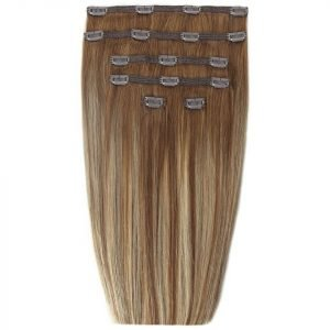 Beauty Works 18 Double Hair Set Clip-In Extensions Biscuit Balayage 4 / 27 / 10