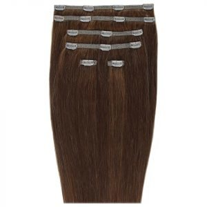 Beauty Works 18 Double Hair Set Clip-In Extensions Chocolate 4 / 6
