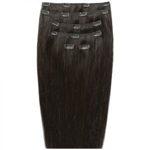 Beauty Works 18 Double Hair Set Clip-In Extensions Raven 2