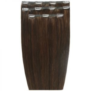 Beauty Works Deluxe Clip-In Hair Extensions 18 Inch Chocolate 4 / 6