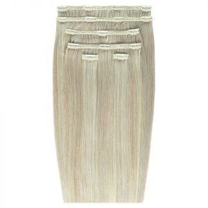 Beauty Works Double Hair Set 18 Inch Clip-In Hair Extensions #18 / 22a Barley Blonde