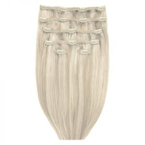 Beauty Works Double Hair Set 18 Inch Clip-In Hair Extensions #613 / 18a Iced Blonde