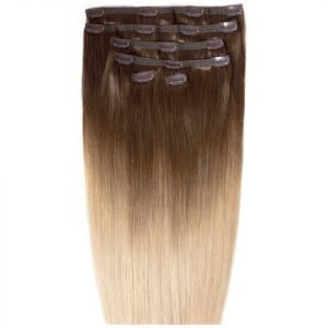 Beauty Works Double Hair Set 18 Inch Clip-In Hair Extensions #High Contrast Warm