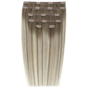Beauty Works Double Hair Set 18 Inch Clip-In Hair Extensions #Scandinavian Blonde