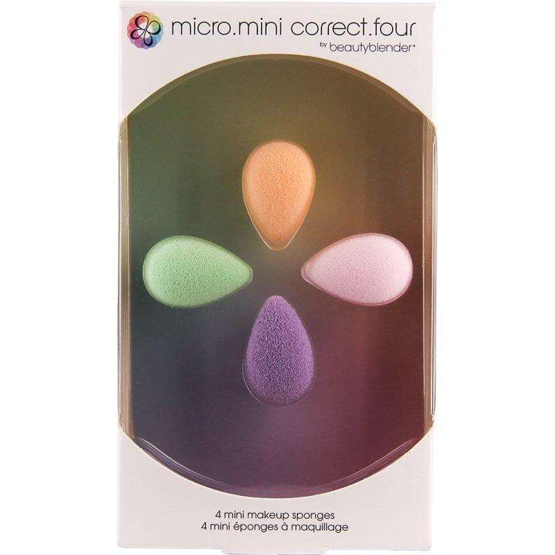 Beautyblender Micro.Mini Correct.Four 4 Mini Makeup Sponges