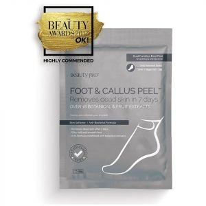 Beautypro Foot And Callus Peel With Over 17 Botanical And Fruit Extracts 1 Pair