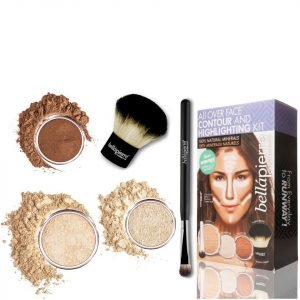 Bellapierre Cosmetics All Over Face Highlight & Contour Kit Fair