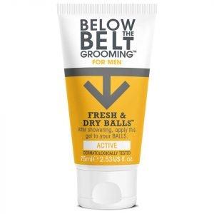 Below The Belt Fresh & Dry Balls 75 Ml Active