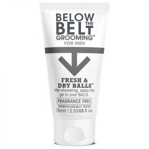 Below The Belt Fresh & Dry Balls 75 Ml Fragrance Free
