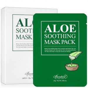 Benton Aloe Soothing Mask Pack -10ea / Pack