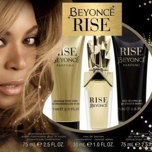 Beyonce Rise 30 Ml Edp + Sg 75 Ml + Vartalovoide 75 Ml Lahjapakkaus Naiselle