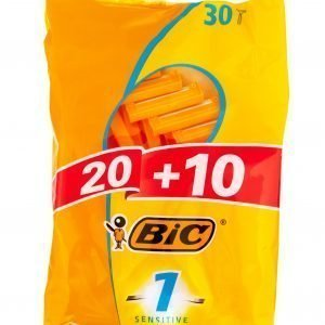 Bic 1 Sensitive Varsiterä 20+10 Kpl