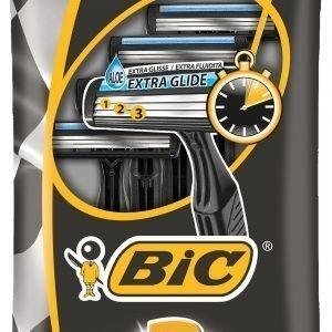 Bic 3 Action Varsiterä 4 Kpl