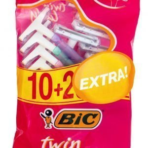 Bic Twin Lady Varsiterä 10+2 Kpl