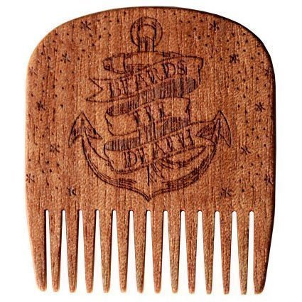 Big Red Beard Comb No.5 Beards Til Death Anchor