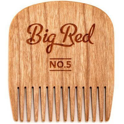 Big Red Beard Comb No.5 Cherry