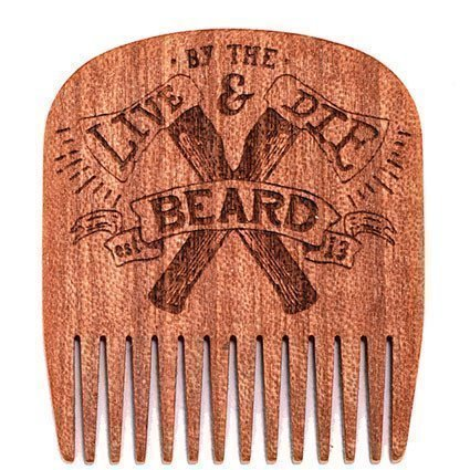 Big Red Beard Comb No.5 Live & Die