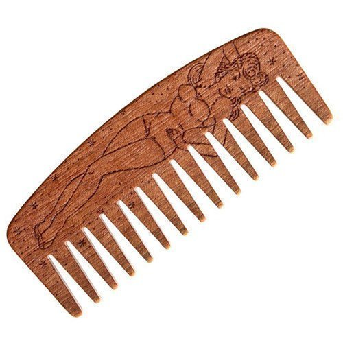 Big Red Beard Comb No.9 Pin Up Girl