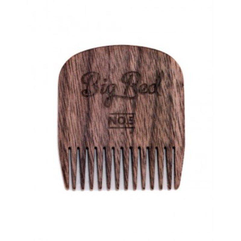 Big Red Beard Combs Comb No.5 - Walnut