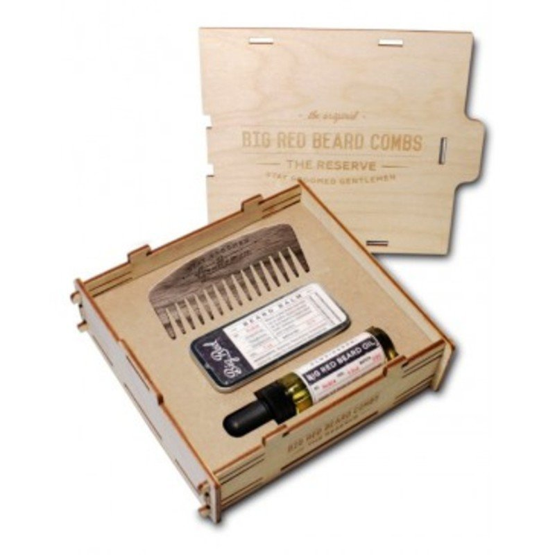 Big Red Beard Combs The Reserve Kit - Noble