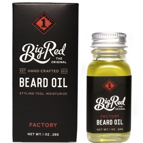 Big Red Beard Oil Factory 15 ml