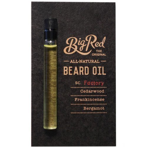 Big Red Beard Oil Sampler Factory