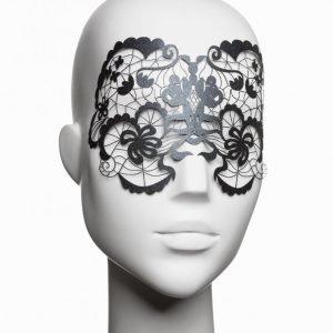 Bijoux Indiscrets Anna Vinyl Mask Vinyylinaamio Musta