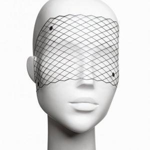 Bijoux Indiscrets Louise Vinyl Mask Vinyylinaamio Musta