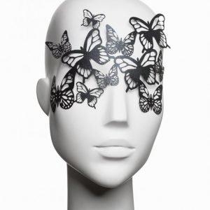 Bijoux Indiscrets Sybille Vinyl Mask Vinyylinaamio Musta