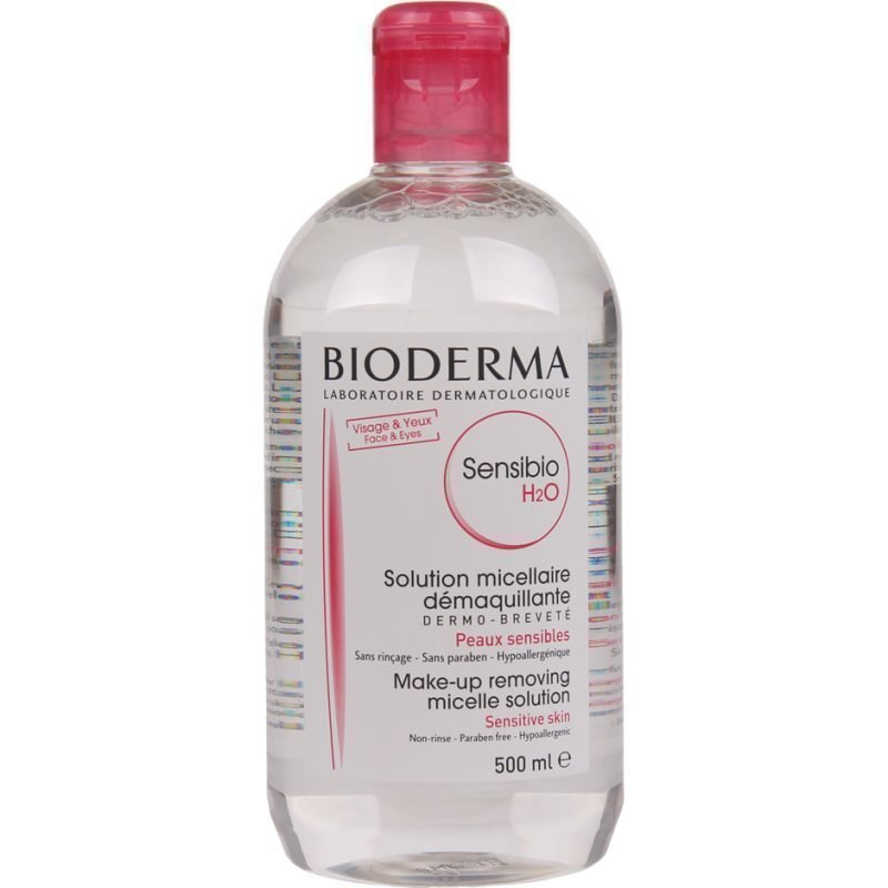 Bioderma Sensibio H2O Micelle Solution. Sensitive Skin 500ml