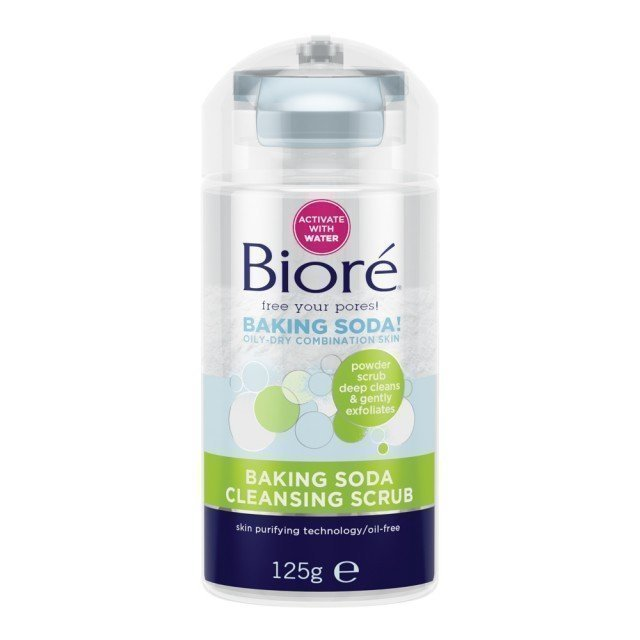 Bioré Baking Soda Cleansing Scrub 125 g